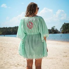 Beach Naturals Collection - This pom pom cover-up is so pretty! Must have for the beach! ⚓️⛵️