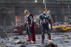 Marvel-The Avengers : Thor et Captain America - extrait exclusif avec Orange  http://www.youtube.com/watch?v=a-k8y7FOj6s