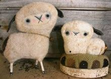 Wee Wooly sheep from Mouse Droppings