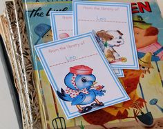 Featured DIY – vintage inspired bookplates « Spearmint Baby