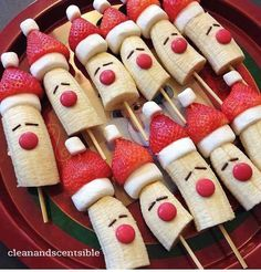 SANTA SKEWER SNACKS!