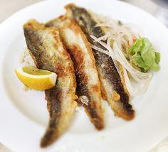 Denné menu Vranov | Grilované hoki preliate maslom, jemné smotanové krupoto - reštaurácia Hotel Patriot*** #hotel #restaurant