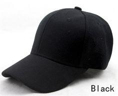 Classic Solid Blank Baseball Caps Kids Visors Children Boys Girls Casual Sport Cotton Hat Hook Loop Closer Black Blue Red Caps