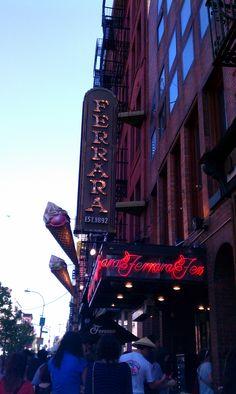 Ferrara Ice Cream & Bakery~ Little Italy~ NYC