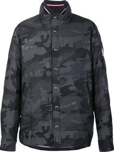 MONCLER GAMME BLEU camouflage print jacket. #monclergammebleu #cloth #jacket