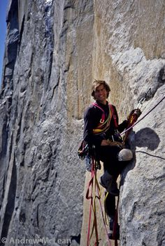 Alex Lowe - mountaineer  Quote:  When you remove the risk, you remove the challenge. When you remove the challenge, you wither on the vine.
