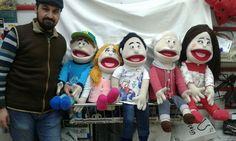 Hand puppet... El kukla