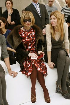 Anna Wintour  pretty much the most powerful woman in fashion.