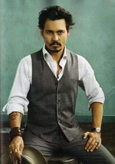 Johnny Depp  Not a product but the love is there