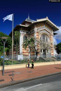 La Bibliothèque Schoelcher à Fort de France, #Martinique.
