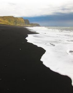 black beaches in iceland.