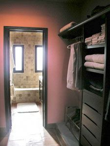 Walk through closet ideas on pinterest walk through for 2nd bathroom ideas