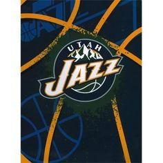 If you can't be at the game, next best thing is to cuddle up in your favorite sports team blanket.  fourthquartersports.com - NBA Blanket - Utah Jazz - Shadow Play, $42.39 (http://www.fourthquartersports.com/products/nba-blanket-utah-jazz-shadow-play.html)
