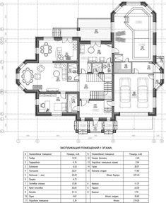 Проект двухэтажного дома с бассейном «Шербон» Plans Architecture, Plan Design, Floor Plans, Flooring, How To Plan, Wood Flooring, Floor Plan Drawing, Floor, House Floor Plans