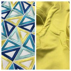 SPAZIO AI VOSTRI PROGETTI! Idea tendaggio condivisa da Cavalletto Tendaggi. Località: Priverno Latina (LT).  Ci presentano i nostri tessuti della Collezione #Dance  in due varianti perfettamente abbinabili e luminose! - a sinistra: #Matisse - a destra #Gauguin  Visita il nostro sito www.ctasrl.com e scarica le nostre brochure su: http://bit.ly/1nhrLQM  #beauty #geometricleaves #trendy #tessuti #interiordesign #tendaggi #textile #textiles #fabric #homedecor #homedesign #hometextile…