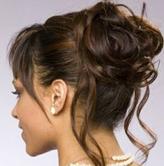 Updos for mother of the bride
