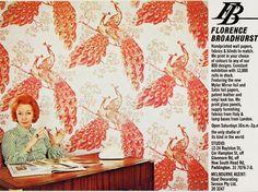 Florence Broadhurst Australian Designer -  Florence Broadhurst Wallpaper