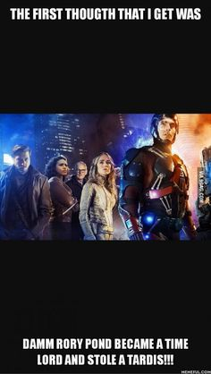 Saw the new DC comic series Legends of Tomorrow and...
