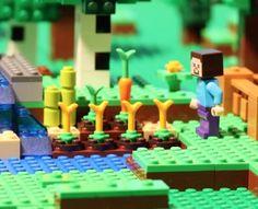 lego stop motion Lego Minecraft, Easy Minecraft Houses, Easy Minecraft Cake, Minecraft Bedroom, Minecraft Crafts, Minecraft Furniture, Minecraft Skins, Minecraft Buildings, Minecraft Stuff
