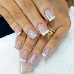 New nails colors classy elegant 68 Ideas Nail Manicure, Toe Nails, Pink Nails, Classy Nails, Trendy Nails, Nail Deco, New Nail Colors, Nagellack Trends, French Tip Nails