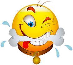 dog with a bone - hungry Funny Emoticons, Funny Emoji, Cute Emoji, Smileys, Emoji Images, Emoji Pictures, Funny Pictures, Free Smiley Faces, Animated Smiley Faces