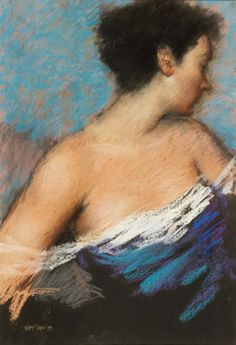 Lady in Blue, Judy Drew , Australia