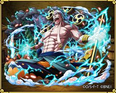 """God Enel's return to the """"Unlimited Earth"""" One Piece Games, One Piece Photos, One Piece Chapter, One Piece Manga, Luffy Gear 4, One Piece Wallpaper Iphone, Anime Tattoos, Monkey D Luffy, Anime Characters"""