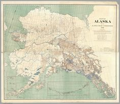 Map Shows All of the Ways You Could Get Around Alaska in 1909