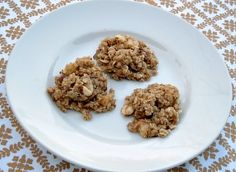 No Bake Apple Oatmeal Cookies from Once A Month Mom