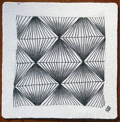 We just sent out our Novermber 2010 newsletter. You can read it online here . Here are some larger images of a new tangle, facets , f. Doodle Patterns, Zentangle Patterns, Fun Patterns, Line Drawing, Painting & Drawing, Yearbook Covers, Doodles Zentangles, Zen Doodle, Pattern Drawing