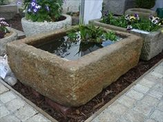 Stone Garden Troughs Stone garden trough new from china garden pinterest granite water troughs camtex stone troughs and natural stone products workwithnaturefo