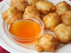 Recipe for Easy Corn Fritters - We've made corn fritters for years. Using tempura batter makes them very quick and easy. We like them with the diced green chilies but you can leave them out. Try serving them with a syrup or a flavored honey.