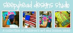 Sleepyhead Designs Studio (Stacy Spangler from Arkansas) Creative Teaching, Teaching Art, High School Art, Beginner Painting, Art Classroom, Elementary Art, Art For Kids, Kid Art, Art Education