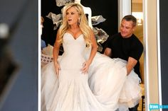 The Real Housewives of Orange County Season 8 - Bonus Pics: Tamra Tries on Wedding Dresses - Photo Gallery - Bravo TV Official Site