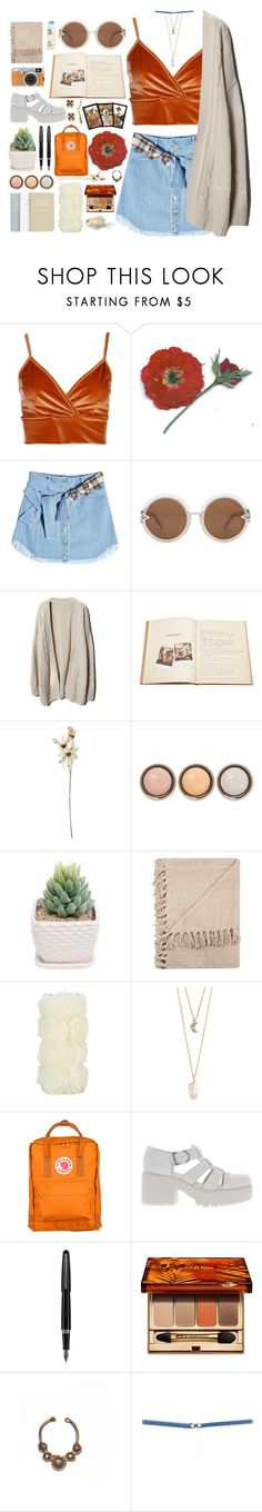 """""""you're getting too far"""" by trashbud ❤ liked on Polyvore featuring Boohoo, SJYP, Karen Walker, Assouline Publishing, Coach House, By Terry, Laura Ashley, With Love From CA, Fujifilm and Fjällräven"""