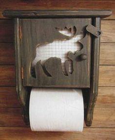 Moose Toilet Paper Holder
