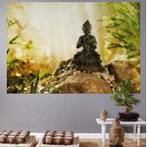 Found it at Wayfair - Komar Buddha 1-Panel Wall Mural