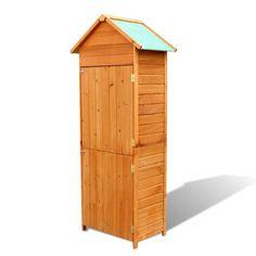Holz Gartenschrank Gerätehaus Geräteschuppen Geräteschrank Gartenhaus Schrank #Ssparen25.com , sparen25.de , sparen25.info