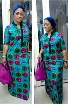 Latest African Fashion Dresses, African Print Dresses, African Dresses For Women, African Print Fashion, African Attire, African Women, African Dress Designs, Dress Fashion, African American Fashion