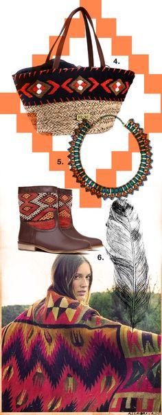 Esta primavera verano los indios asaltan nuestro armario... ¡Bienvenid@s al Far West! #navajo #capazos