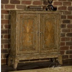 """Maguire Console Cabinet (only 9"""" deep), Matthew Williams, from UtterMost"""