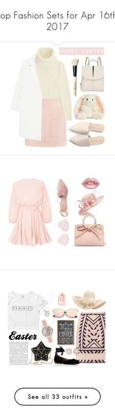 """Top Fashion Sets for Apr 16th, 2017"" by polyvore ❤ liked on Polyvore featuring Uniqlo, See by Chloé, Kin by John Lewis, MANGO, Bobbi Brown Cosmetics, Jacques Vert, Summit, Mansur Gavriel, Lime Crime and Aspinal of London"