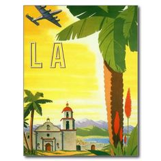 Los Angeles Post Card