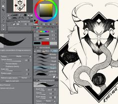 Home to brush resources for CSP (or Manga Studio). All brushes are mostly free to use! Digital Painting Tutorials, Digital Art Tutorial, Painting Tools, Art Tutorials, Clip Studio Paint Brushes, Sai Brushes, Free Brushes, Drawing Templates, Call Art