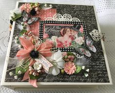 "Graphic 45 ""Mon Amour"" album - custom order.   http://www.cherylspapercreations.com    Feel free to contact me for custom orders!"