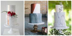 15 Marble Cake Ideas for the Minimalist Bride-to-Be - HarpersBAZAAR.com