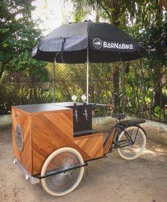 Trike BarNaBike chopp gelado sobre rodas olebikes