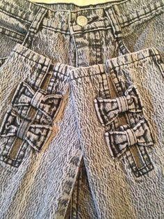 "Cute Hot Gitano Acid Wash Skinny Jeans Vtg 80s Dope Grunge 24""(0/1) HIGH Waist #Gitano $34"