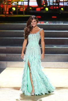 This was my absolute favorite dress at the Miss Universe 2013 Evening Gown Competition.
