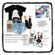 """""""B.B.S.S.B."""" by moorerkaura ❤ liked on Polyvore featuring beauty, Balmain, Disney, Pangmama, Post-It, Chanel, Lime Crime, Casetify and Muse"""